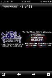 karaoke dj miami