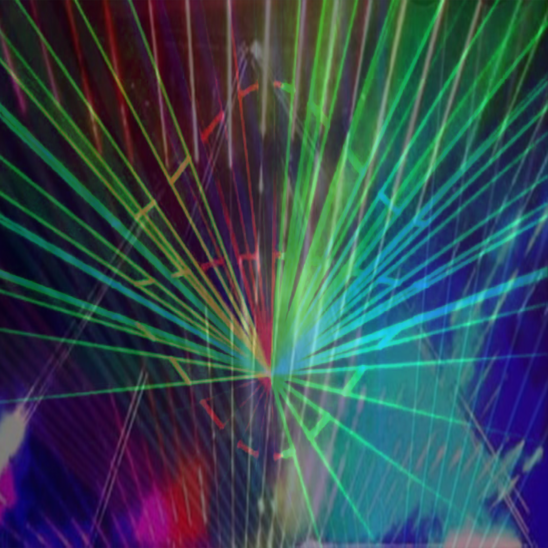 electric laser light show miami
